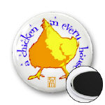 a chicken in every house magnet